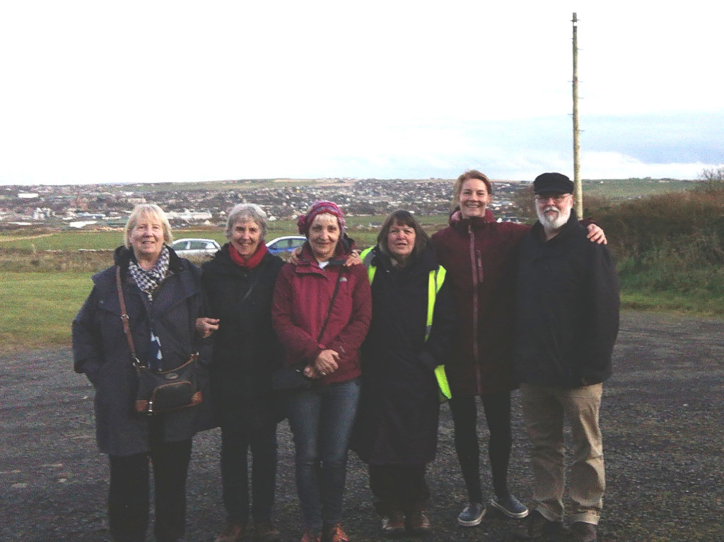 Members of the Orkney Bahá'í Community gathered on Wideford Hill to celebrate the Bicentenary of the Báb